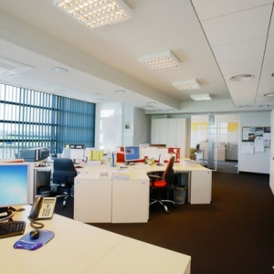 fotografia architektury i wnętrz, wnętrze biura
