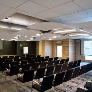 Fotografia architektury i wnętrz, sala wykładowa Willa Port