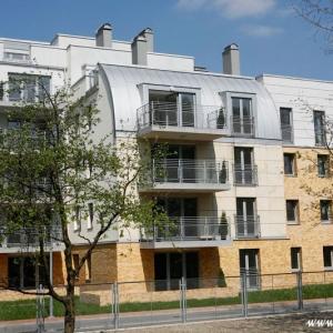 Fotografia architektury i wnętrz, architektura nowoczesnego bloku mieszkalnego