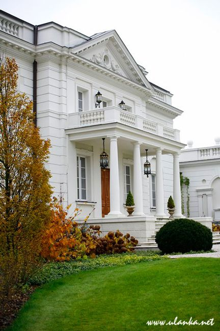 Fotografia architektury i wnętrz, front pałacyku