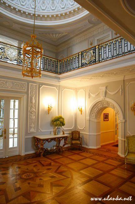 Fotografia architektury i wnętrz, wnętrze pałacu