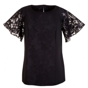 packshot - fotografia produktu, bluzka czarna