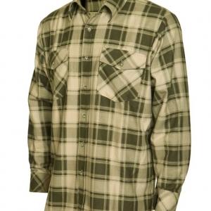 packshot - fotografia produktu, koszula męska w kratę