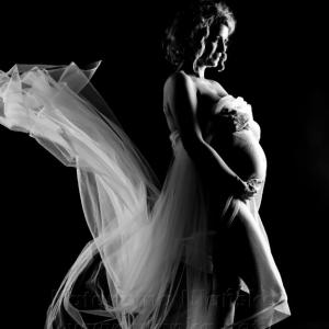 piękna kobieta w ciąży