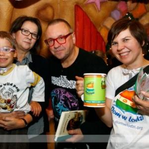 Fotografia eventowa, Jurek Owsiak na akcji charytatywnej