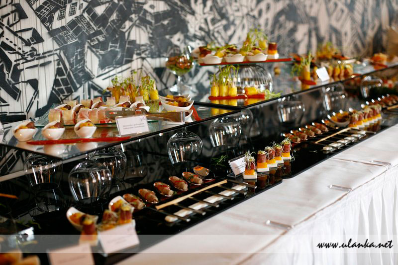 Fotografia eventowa, catering na uroczystość