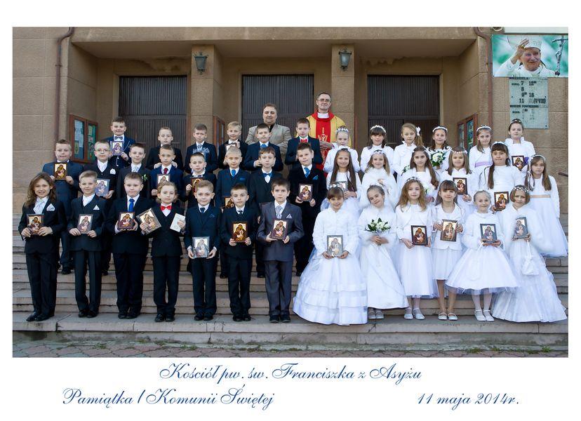 Fotografia komunijna - zdjęcie zbiorowe