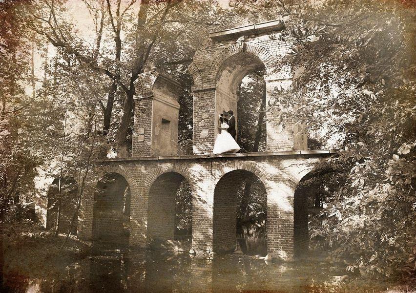 Zdjęcia ślubne w plenerze na ruinach zamku