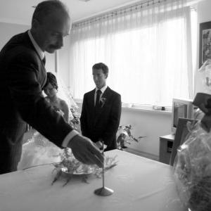 Fotografia ślubna - przygotowania w domu