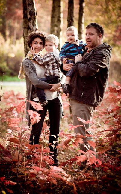 Fotografia rodzinna w parku