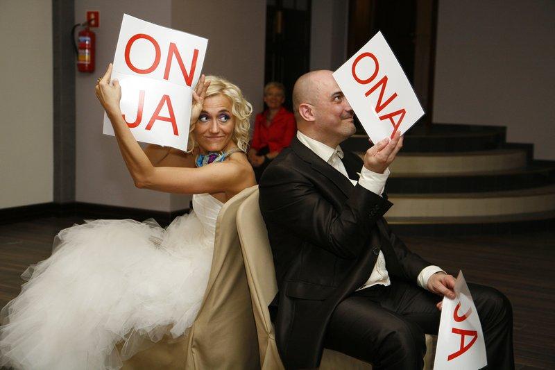 Ślub na wesoło, zabawy po odczepinach