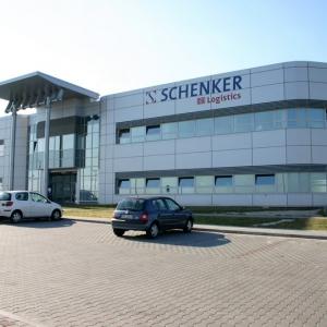 fotografia wizerunkowa, budynek firmowy Schenker