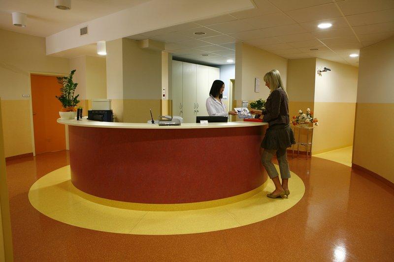 fotografia wizerunkowa, recepcja w klinice
