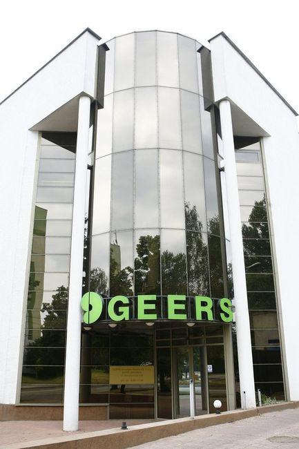 fotografia wizerunkowa, budynek firmy Geers