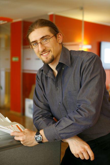 fotografia wizerunkowa pracownika firmy