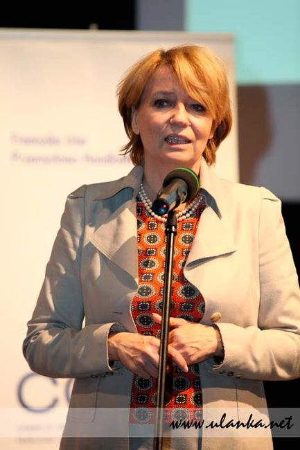 Fotografia reportażowa, zdjęcie Pani Zdanowskiej