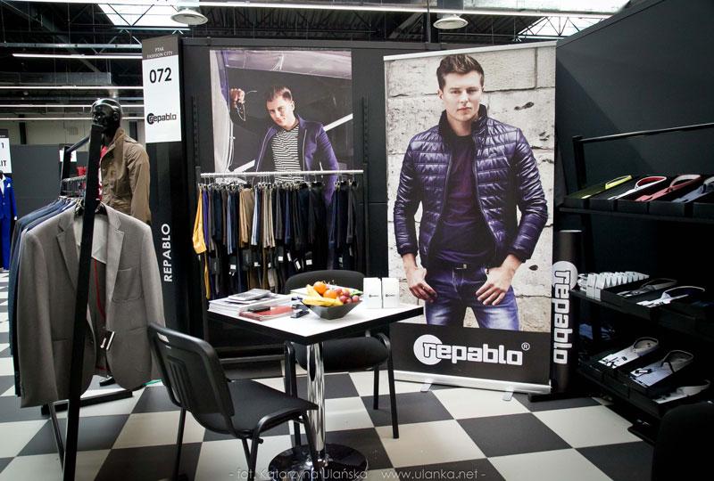 Międzynarodowe Targi Mody PTAK EXPO 2015, stoisko Repablo - Ulanka.net