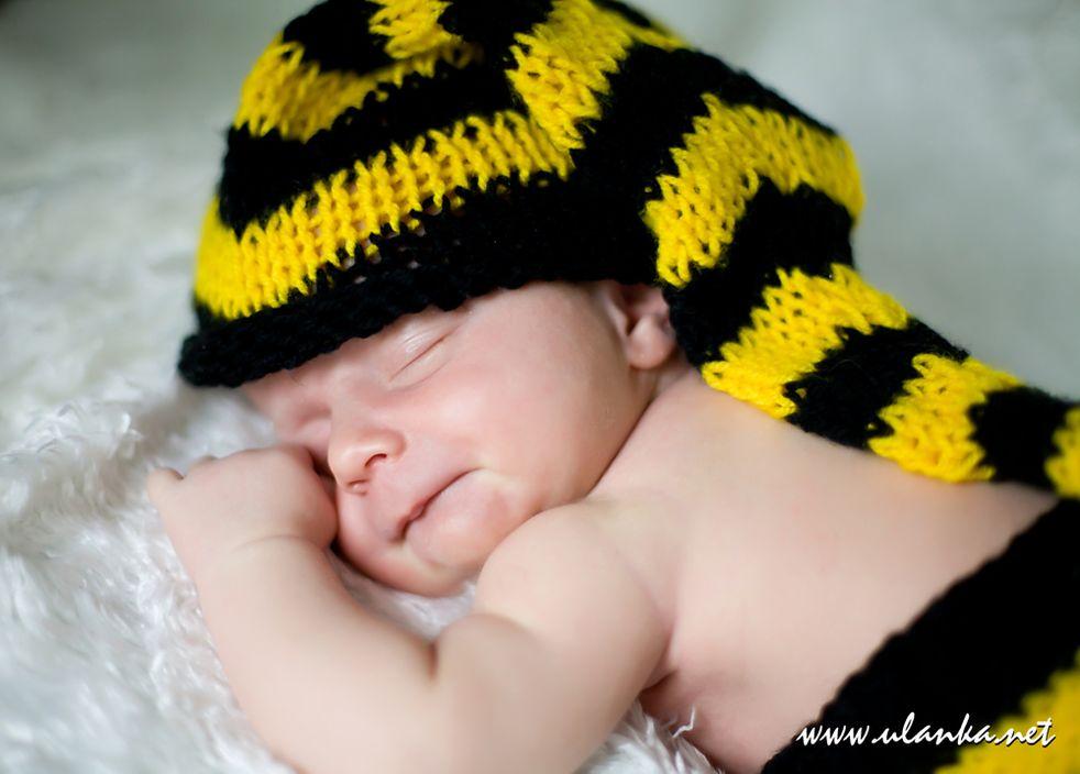 Zdjęcie śpiącego noworodka