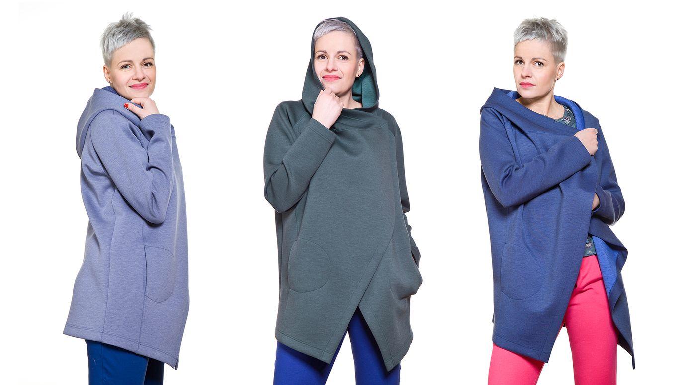 Zdjęcia ubrań na modelce - kreacje w 3 odsłonach