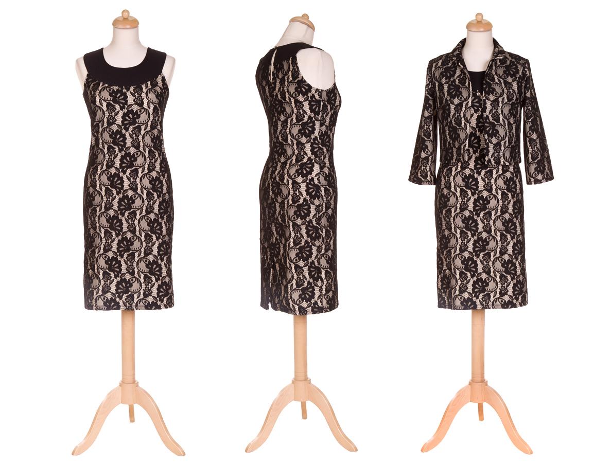 Zdjęcia sukienki na manekinie